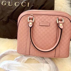 Gucci Microguccissima Mini Dome Bag Pink